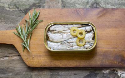 Rezept April: Sardinen mit gegrilltem Gemüse