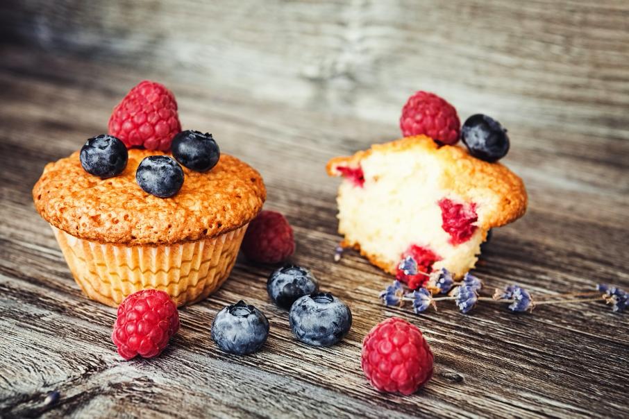 Rezept September: Kokos- Mohn- Ingwer -Limetten Muffins
